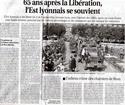 Libération des villes et des villages de la France à partir de 1944 Libara11