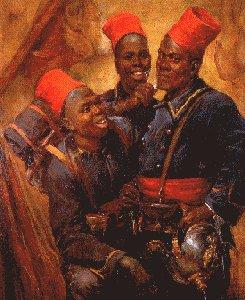 Hommage à tous les Africains et Indochinois qui sont morts pour la France . Tirail12