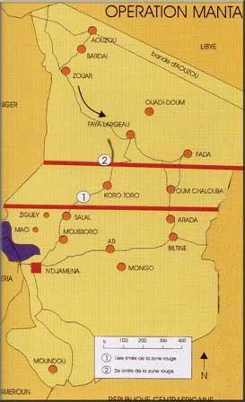 Opération Limousin au TCHAD de 1969 à 1975,est la Première Opération Extérieure de la FRANCE au TCHAD après la Guerre d'ALGERIE, et non pas l'Opération Tacaud.Et qu'on se le dise,Monsieur Yves CADIOU. Untitl16
