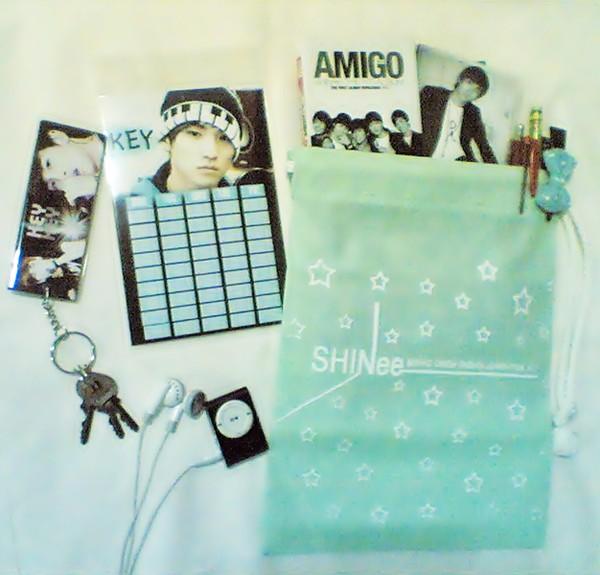 กระเป๋าผ้า SHINee สีเขียวเบบี้บลู Image116