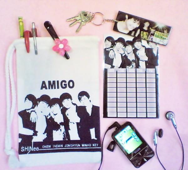 กระเป๋าผ้า SHINee ลาย AMIGO Image118