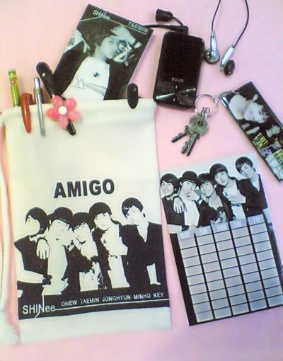 กระเป๋าผ้า SHINee ลาย AMIGO Image119