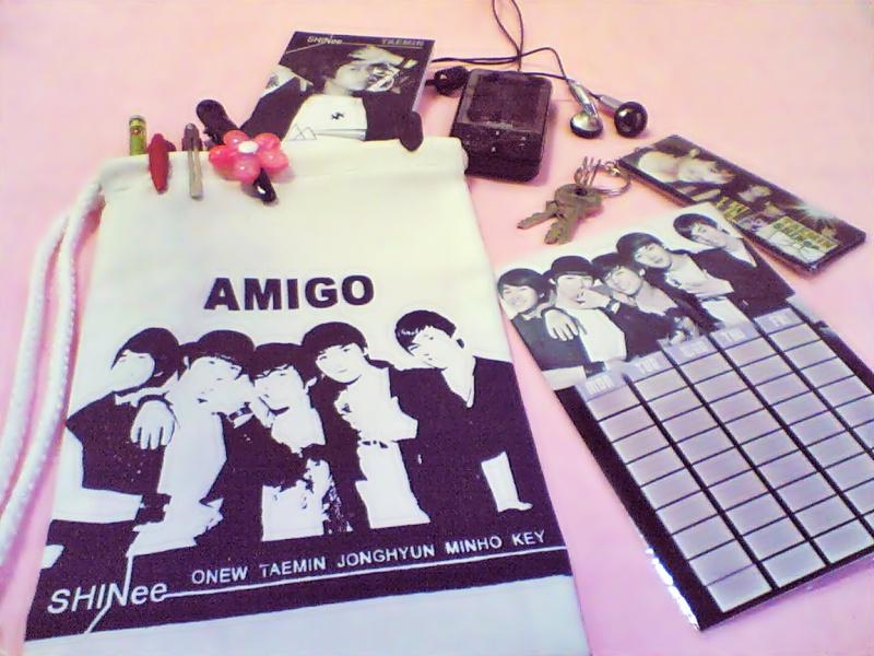 กระเป๋าผ้า SHINee ลาย AMIGO Image120