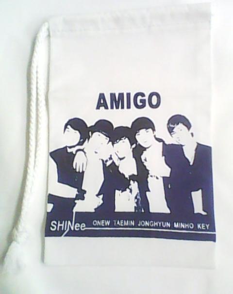 กระเป๋าผ้า SHINee ลาย AMIGO Img09510