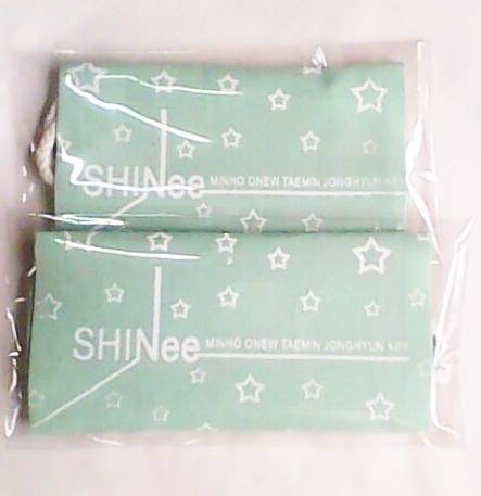 กระเป๋าผ้า SHINee สีเขียวเบบี้บลู Img09711