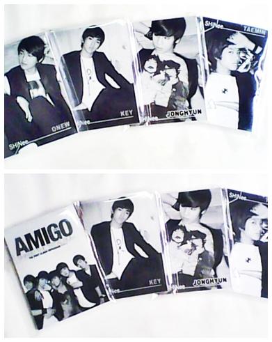 สมุด  short note (ver.AMIGO) มี 5 ลาย  คือ แทมิน มินโฮ  จงฮยอน  อนยู คีย์   / เล่มละ 25.- Page1310
