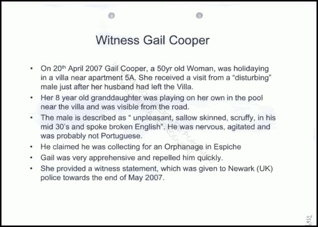 McCann Powerpoint Presentation of Gail Cooper Sighting Powerp12