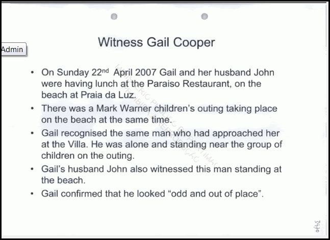 McCann Powerpoint Presentation of Gail Cooper Sighting Powerp13