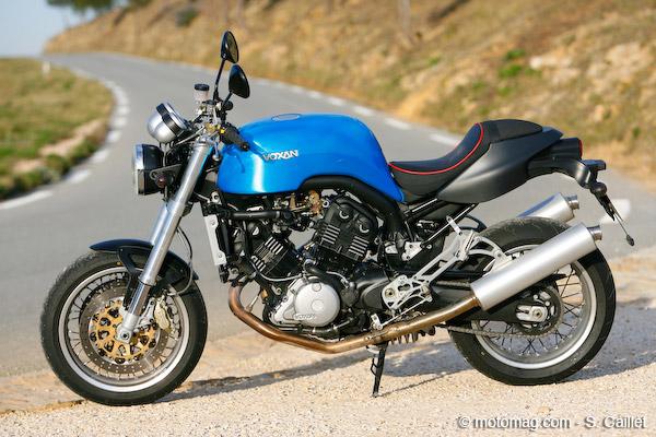 Pour les titulaires du permis A ou pour les passionnés de moto qui ne l'ont pas. Les VOXAN. 1-stat10
