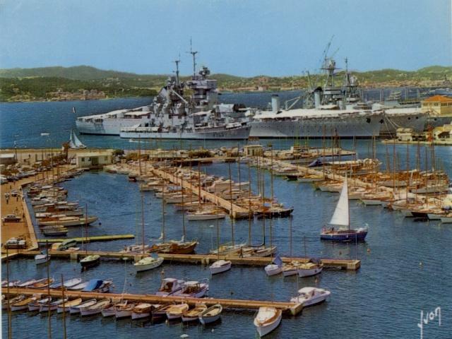 [Les ports militaires de métropole] TOULON au début des années 60 - Page 4 Le_bre20