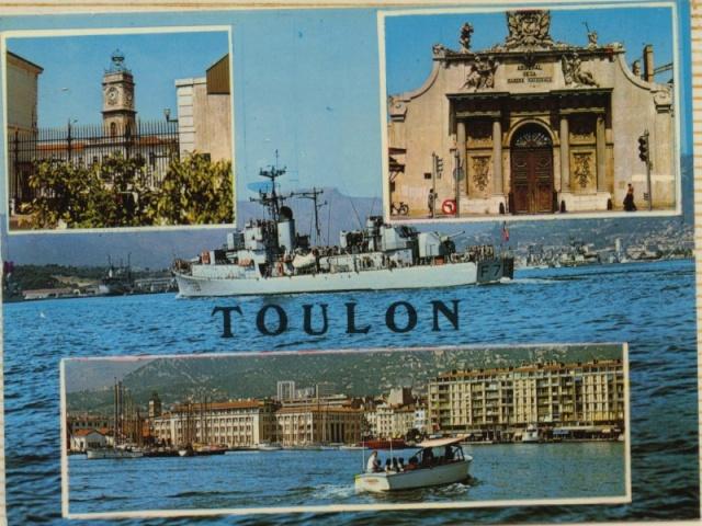 [Les ports militaires de métropole] TOULON au début des années 60 - Page 4 Toulon11