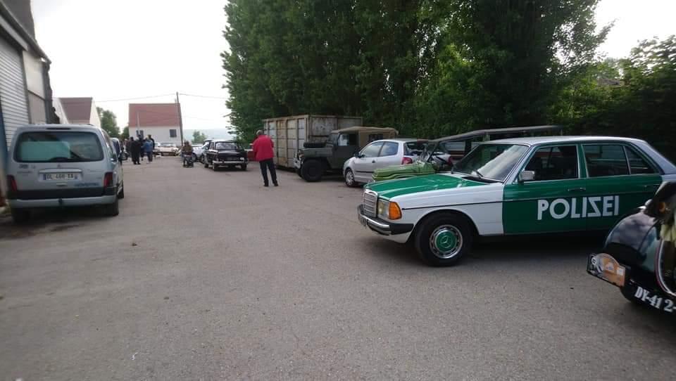 CRÉATION DE LA RÉPLIQUE POLIZEI SUR MERCEDES EN HOMMAGE AUX CASCADEUR Maurice BATAILLE  Fb_img14