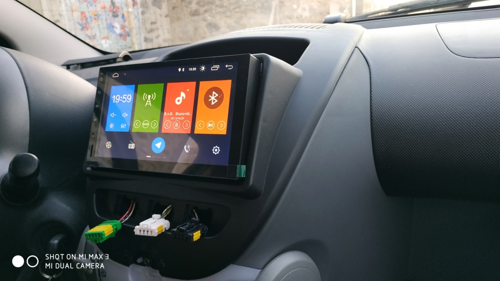 REMPLACER SON AUTORADIO D'ORIGINE PAR UN ANDROID CARPLAY Img_2067