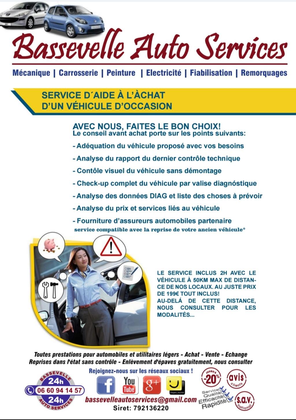 BASSEVELLE AUTO SERVICES (toutes solutions pour l'automobile) Screen11
