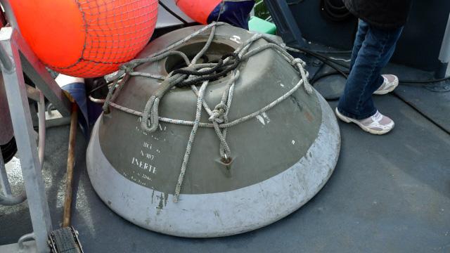 Escale à BAYONNE du chasseur de mines L'AIGLE 1110