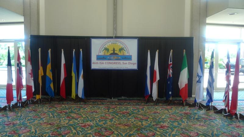 [ Associations anciens Marins ] Le congrès international des anciens sous-mariniers à San Di L1010610