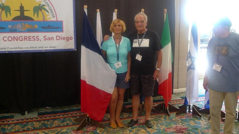 [ Associations anciens Marins ] Le congrès international des anciens sous-mariniers à San Di L1010611