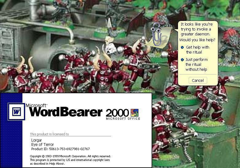Humour 40K et Figurines Insolites Msword10
