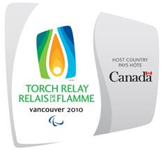 Jeux Paralympiques Vancouver 2010 : Torche & Uniforme des relayeurs 6860010