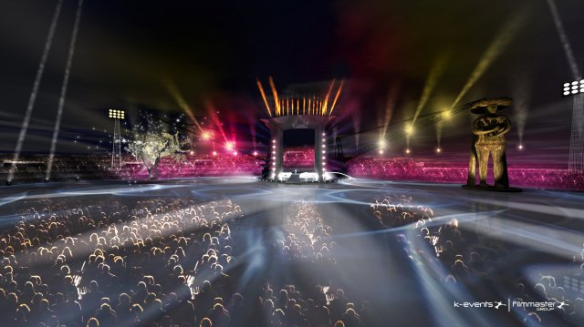 Jeux Med 2009 - Cérémonie d'Ouverture Apertu10