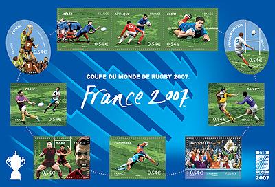 """Retour sur le bloc philatélique """"Rugby France 2007"""" (Ed. 2007) Bloc_f10"""