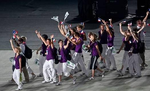 Jeux Mondiaux : Kaohsiung 2009 (du 16 au 26 juillet) France10