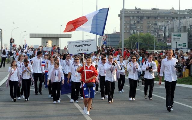 Universiade 2009 : Belgrade Openin10
