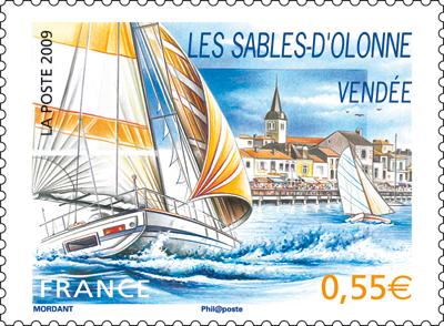 Timbre Voile - Vendée (Ed. 2009) Timbre15