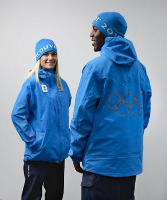 Les uniformes des volontaires des Jeux Olympiques et Paralympiques de Vancouver 2010 Van110