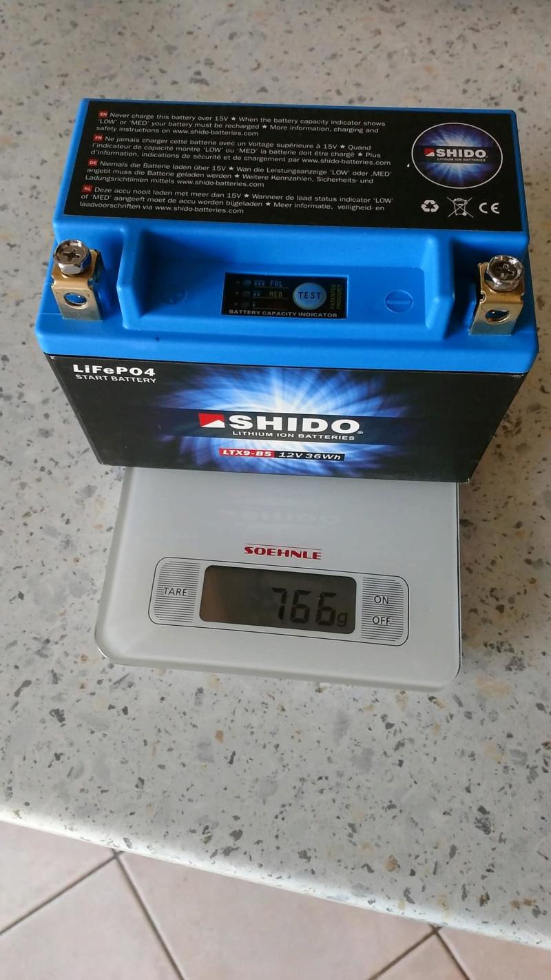 Batterie lithium KTM 790 DUKE 42655910