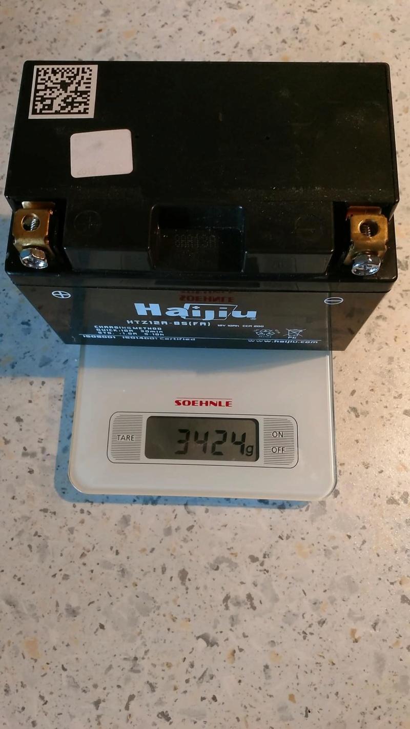Batterie lithium KTM 790 DUKE 42694310