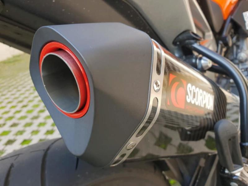 Echappement Scorpion KTM 790 Duke 44412610