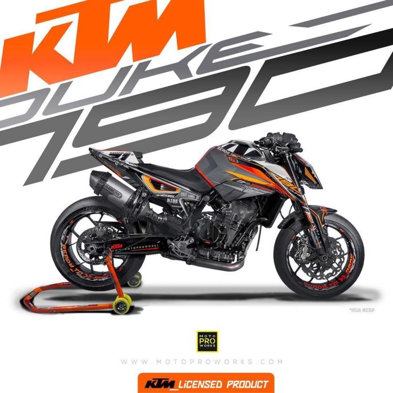 Motoproworks ktm 790 Duke 45233610