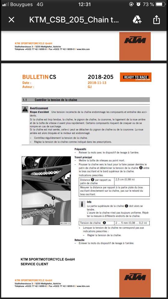 Correction KTM: Tension de chaine 790 Duke 46503510