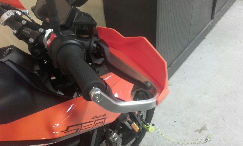 Kit protège main KTM 91410