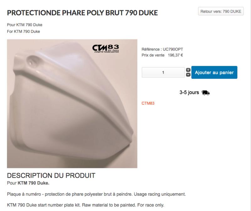 PROTECTIONDE PHARE POLY BRUT 790 DUKE  Captu151