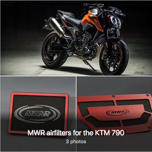 MWR airfilters for the KTM 790 Captu197