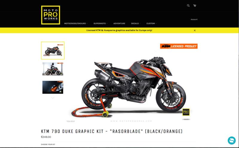 Motoproworks ktm 790 Duke Captu239
