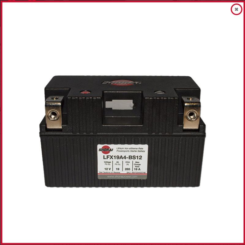 Batterie lithium KTM 790 Duke Captu241