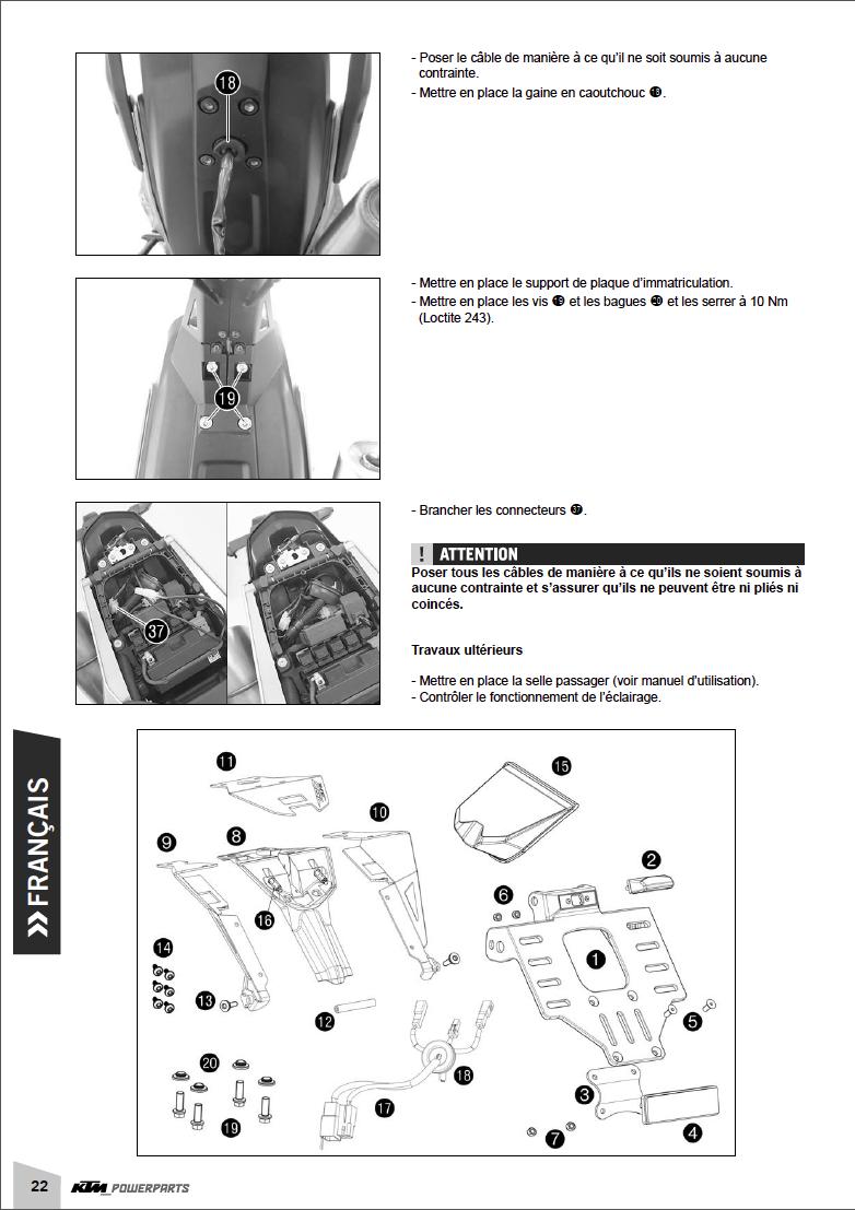 Powerparts Habillage et graphisme by KTM Captu269