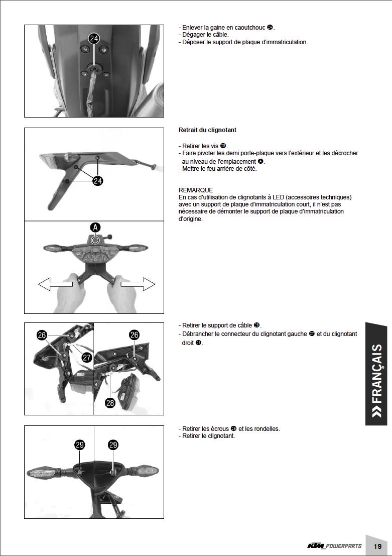 Powerparts Habillage et graphisme by KTM Captu271