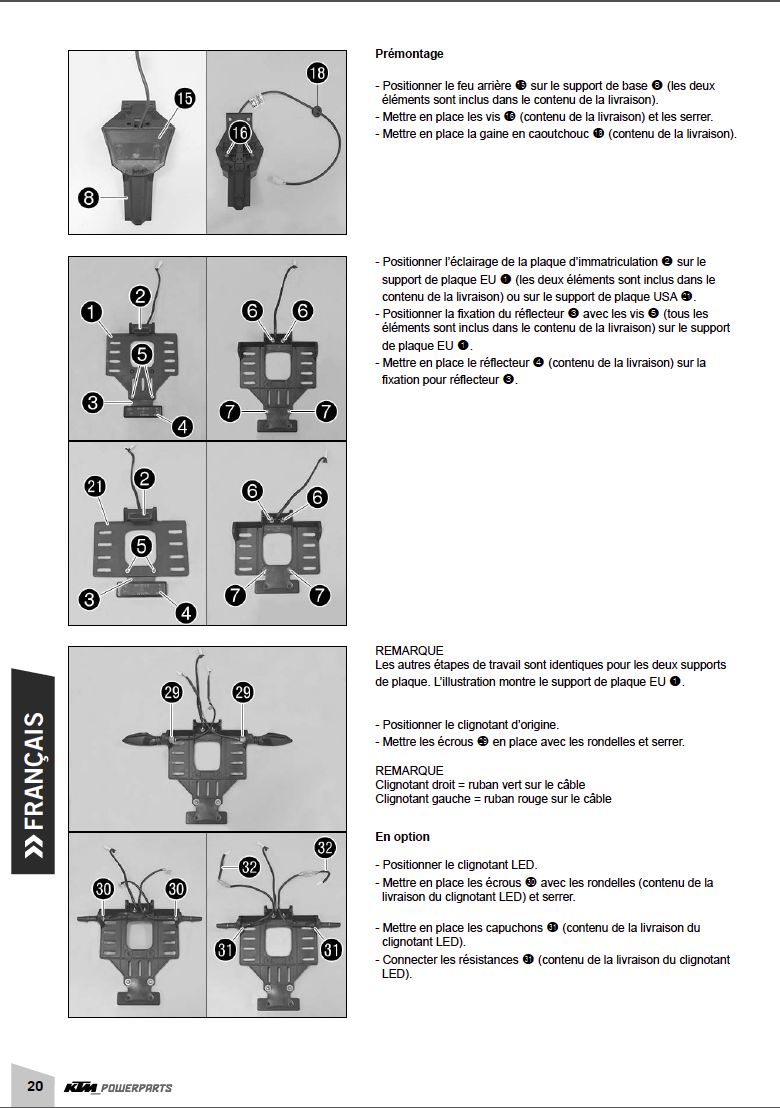 Powerparts Habillage et graphisme by KTM Captu272
