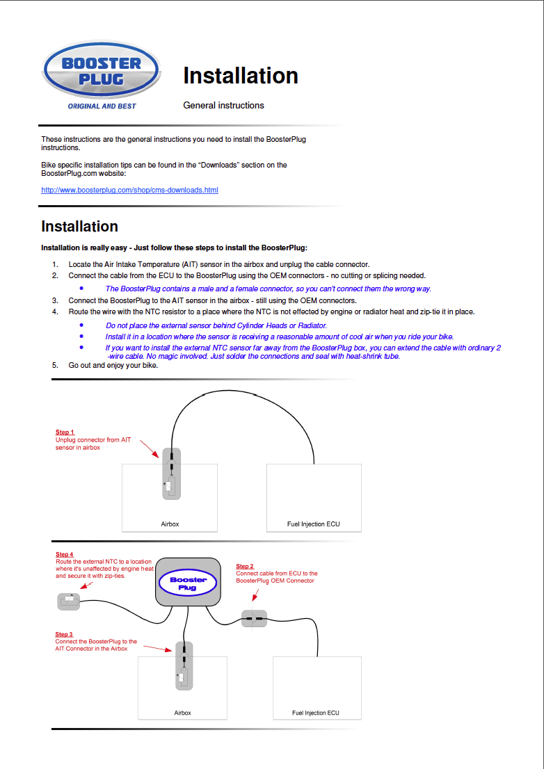 Booster Plug pour KTM 790 Captu395