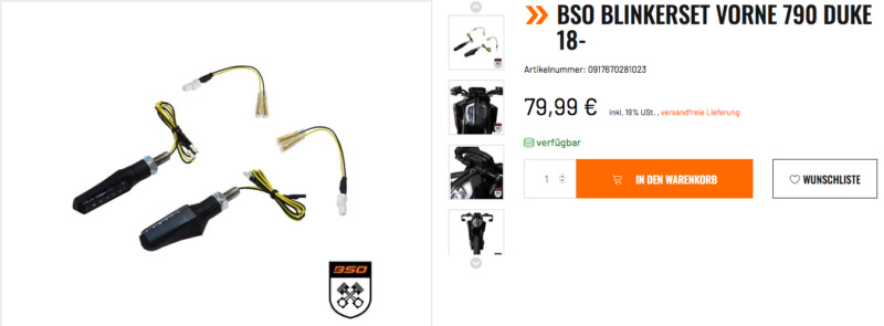 BSO/ Support de plaque KTM 790 DUKE Captu566