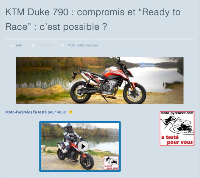 """KTM Duke 790 : compromis et """"Ready to Race"""" : c'est possible ? Captur13"""