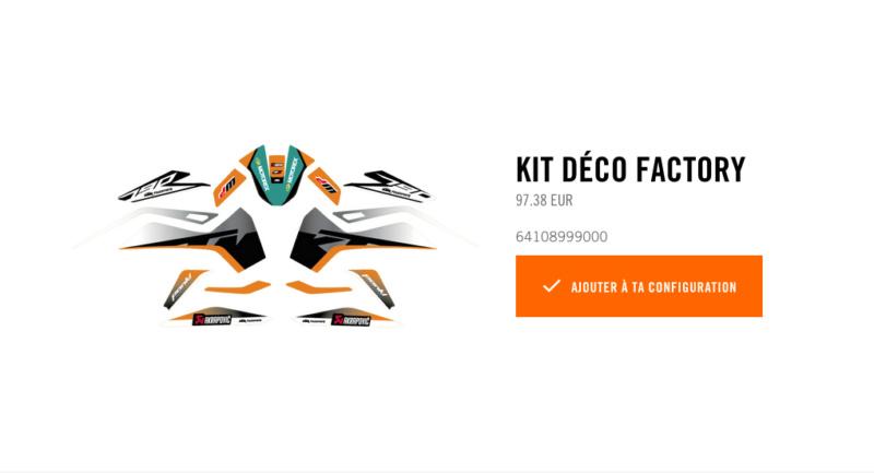 Powerparts Habillage et graphisme by KTM Captur60