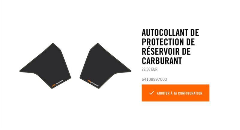 Powerparts Habillage et graphisme by KTM Captur62