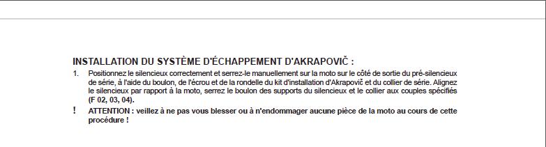 "Silencieux Akrapovič ""Slip-on Line"" 790 duke Captur96"