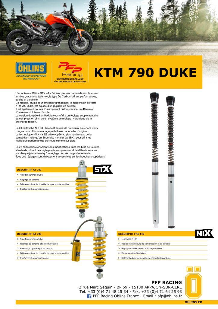 Kit suspensions Ohlins Ktm-7920
