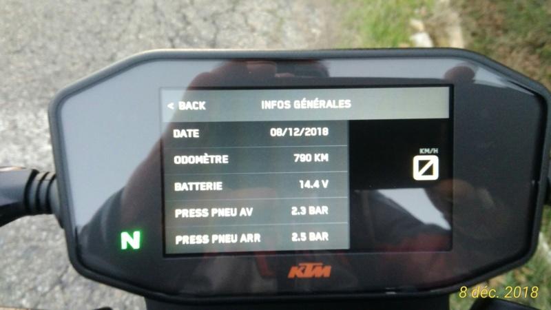 KTM 790: Prise en main! P_201107
